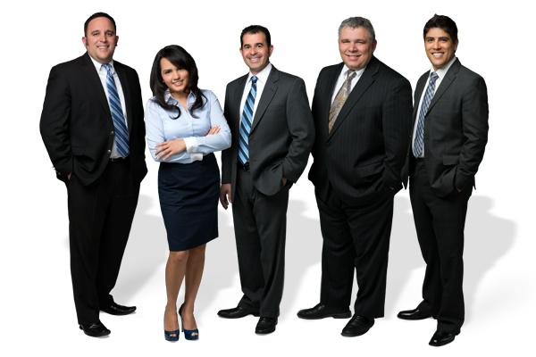 Joey Perez, Rosemary Pelayo, Roy Pelayo, Dominic Moschetti and Martin Reyna